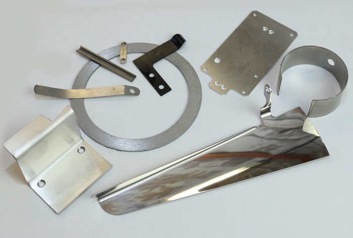 Light gage sheetmetal fabrications